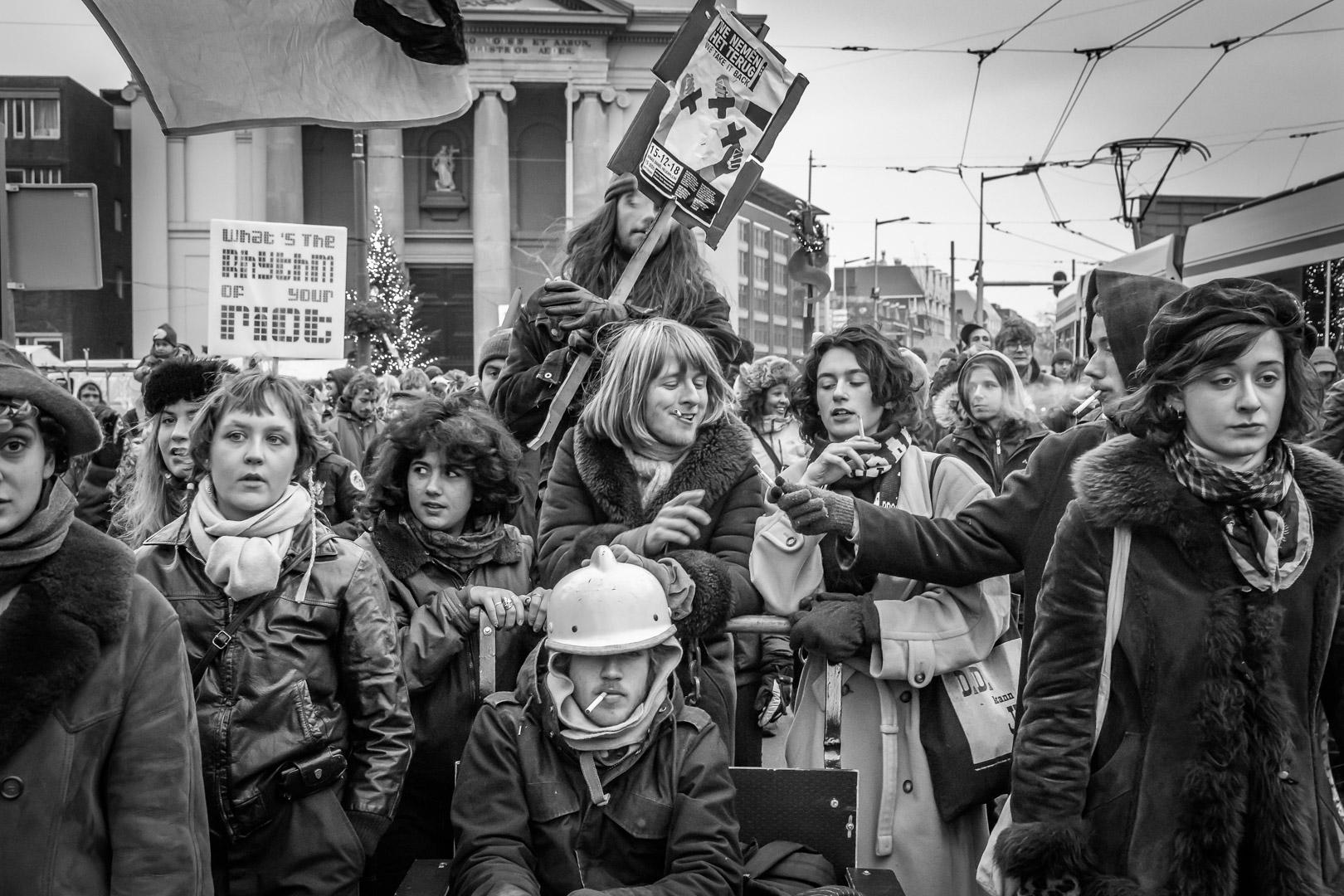 Demonstration cultural Center ADM 2018, Amsterdam