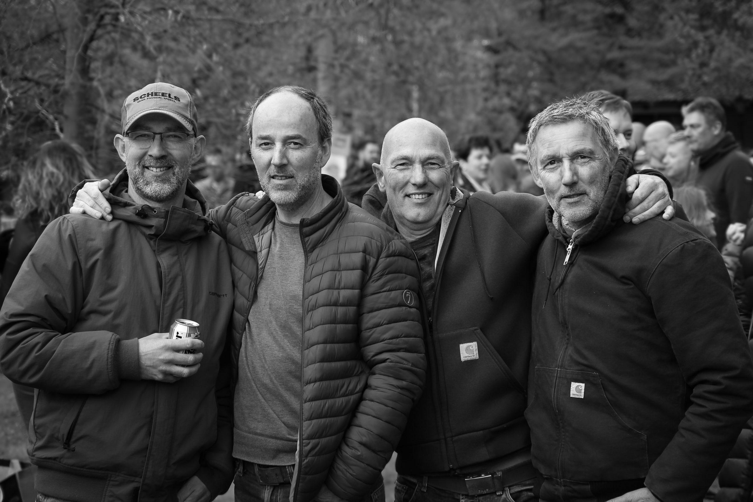 Marcel, Eduard, Peter & Richard